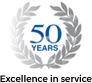 50 Years Service