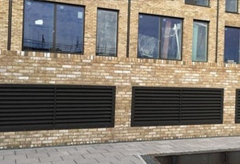 Louvres and Grilles